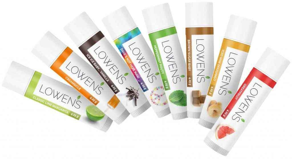 Lowen's Natural Skin Care LOWENS.CA #canadiangreenbeauty #naturalskincare #lipbalms