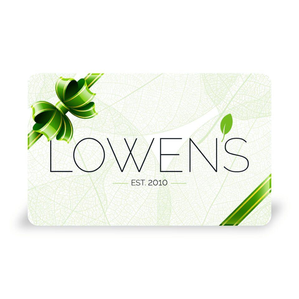 Lowen's Groovy Gift Card