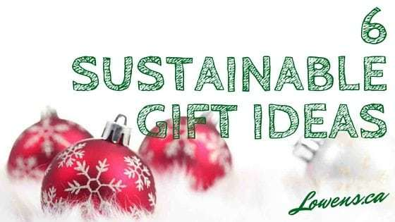 6 Sustainable Gift Ideas 2015!