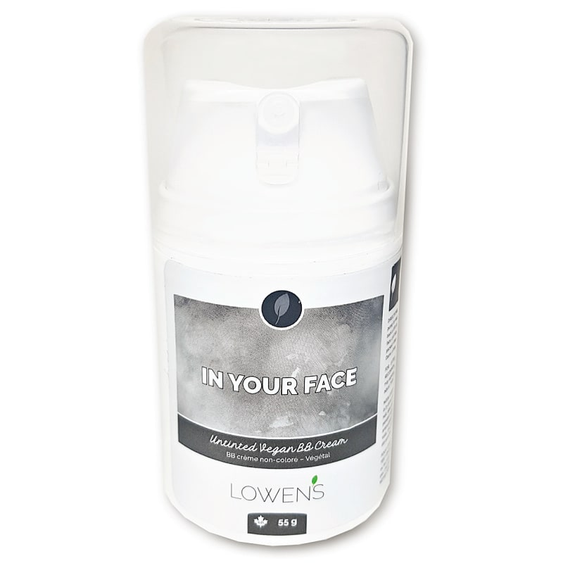 In Yo Face BB CREAM - by Lowens.ca #bbcream #canadiangreenbeauty #antiaging #allnatural #greenbeauty #facelotion