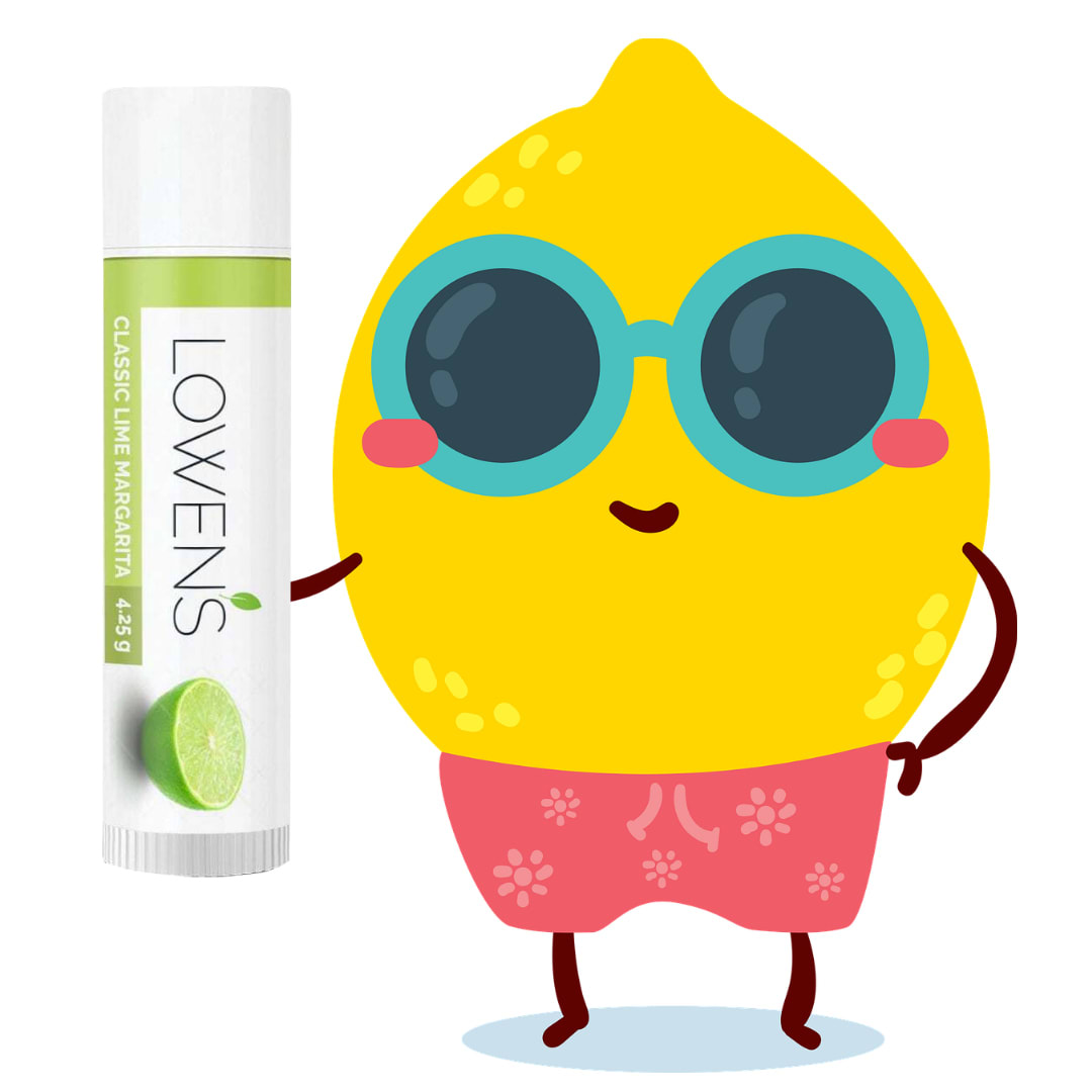 Classic Magarita Lime Lip Balm by Lowens.ca #canadiangreenbeauty