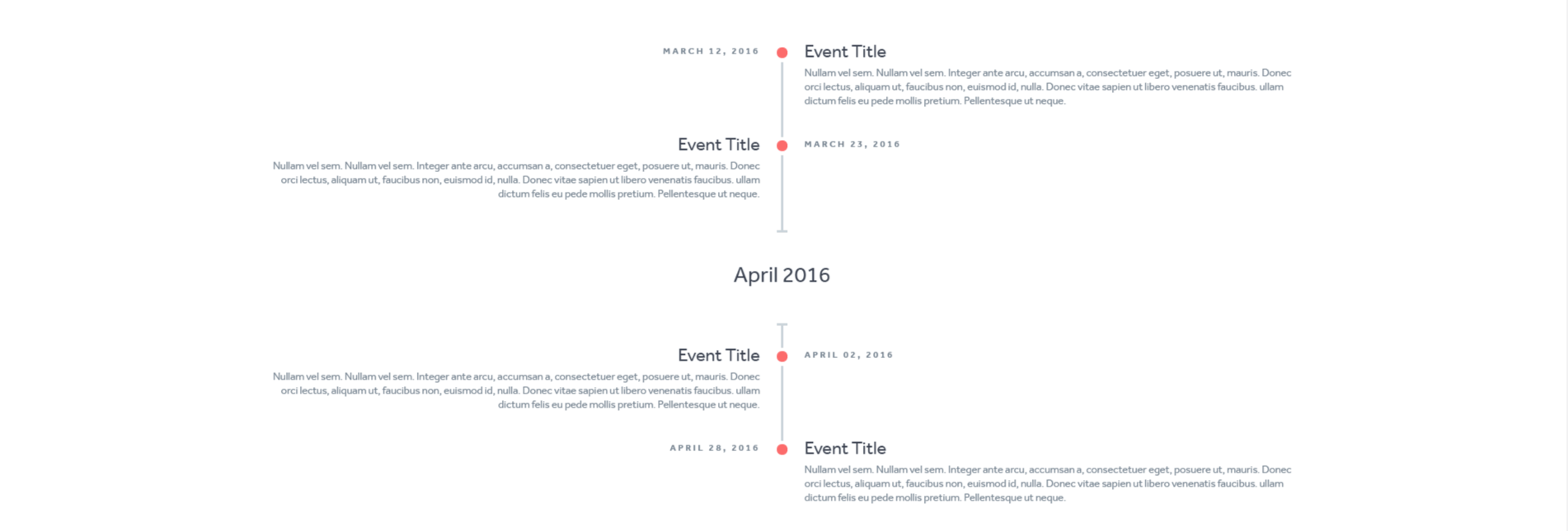 Thiết Kế HTML CSS Responsive Timeline