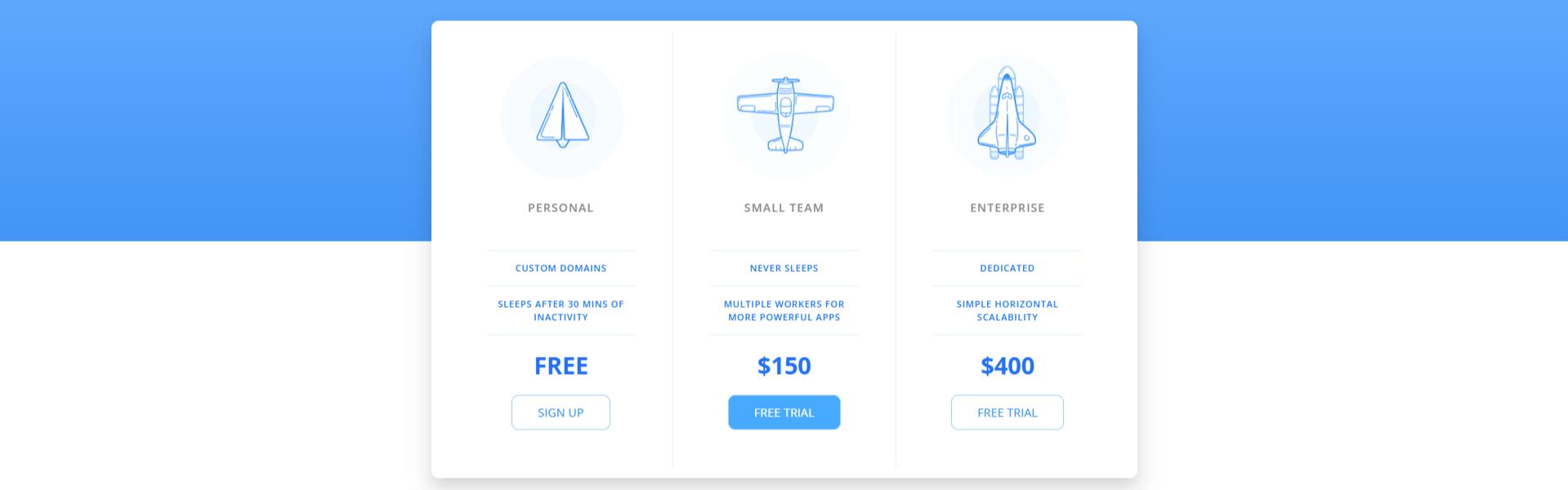 Pricing table(bảng giá dịch vụ) xây dựng bằng HTML, CSS Phần 6