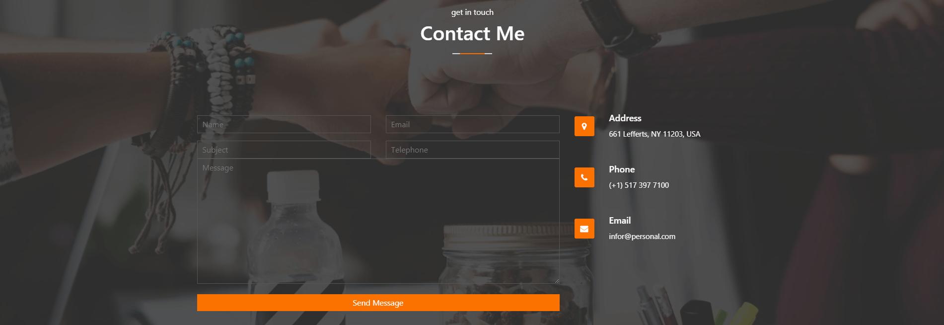 Cách Tạo Contact Form Bootstrap