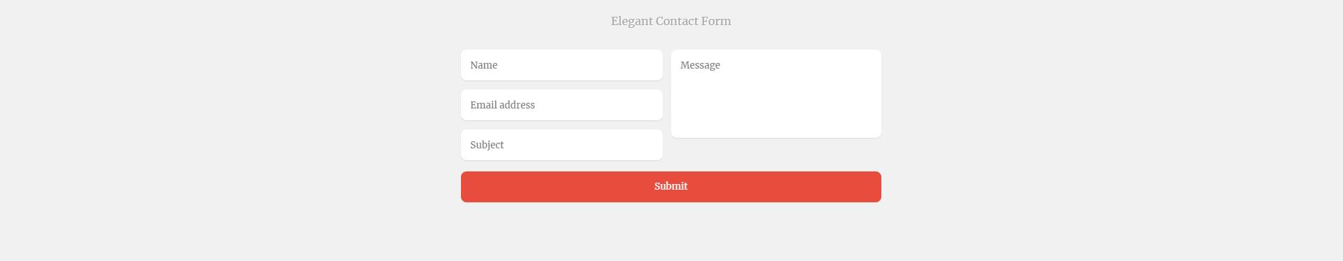Cách Thiết Kế Contact Form HTML CSS