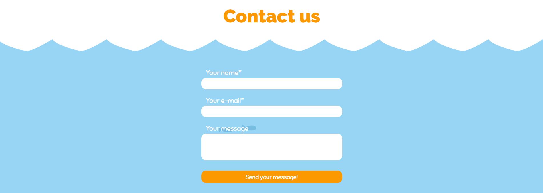 Cách Tạo Contact Form HTML5