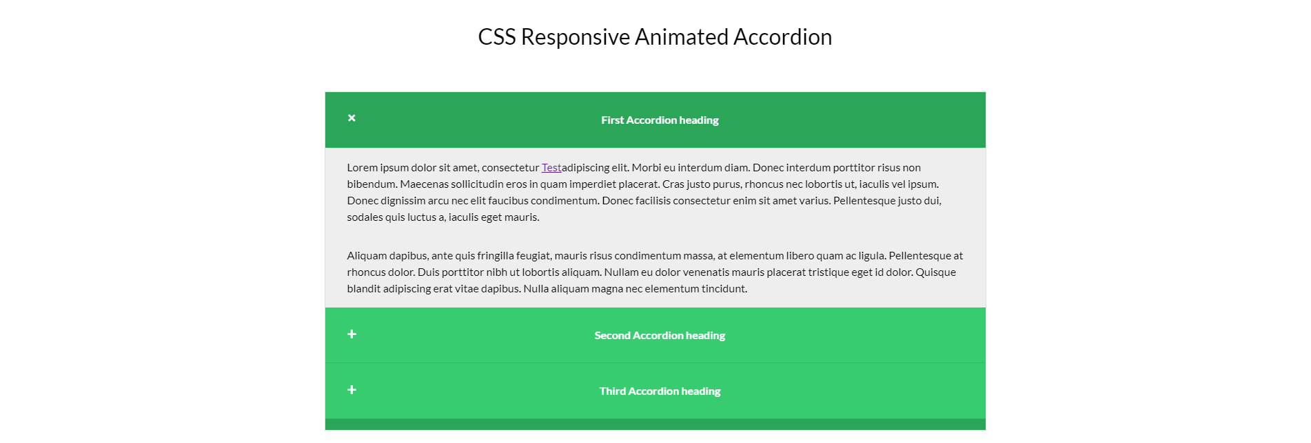 Cách Thiết Kế CSS Responsive Accordion