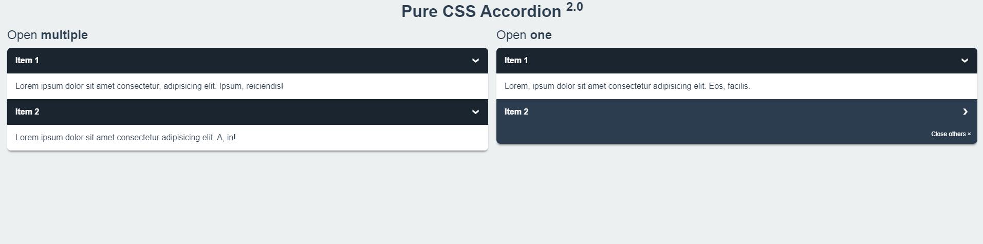 Cách Tạo Accordion Bằng HTML5 CSS3
