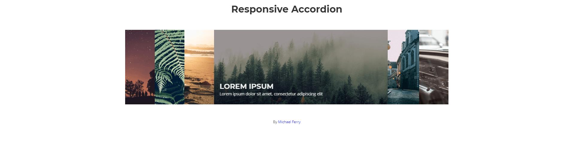Accordion xây dựng bằng HTML, CSS và Javascript Phần 5