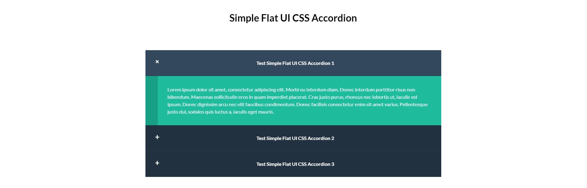 Accordion xây dựng bằng HTML, CSS Phần 9