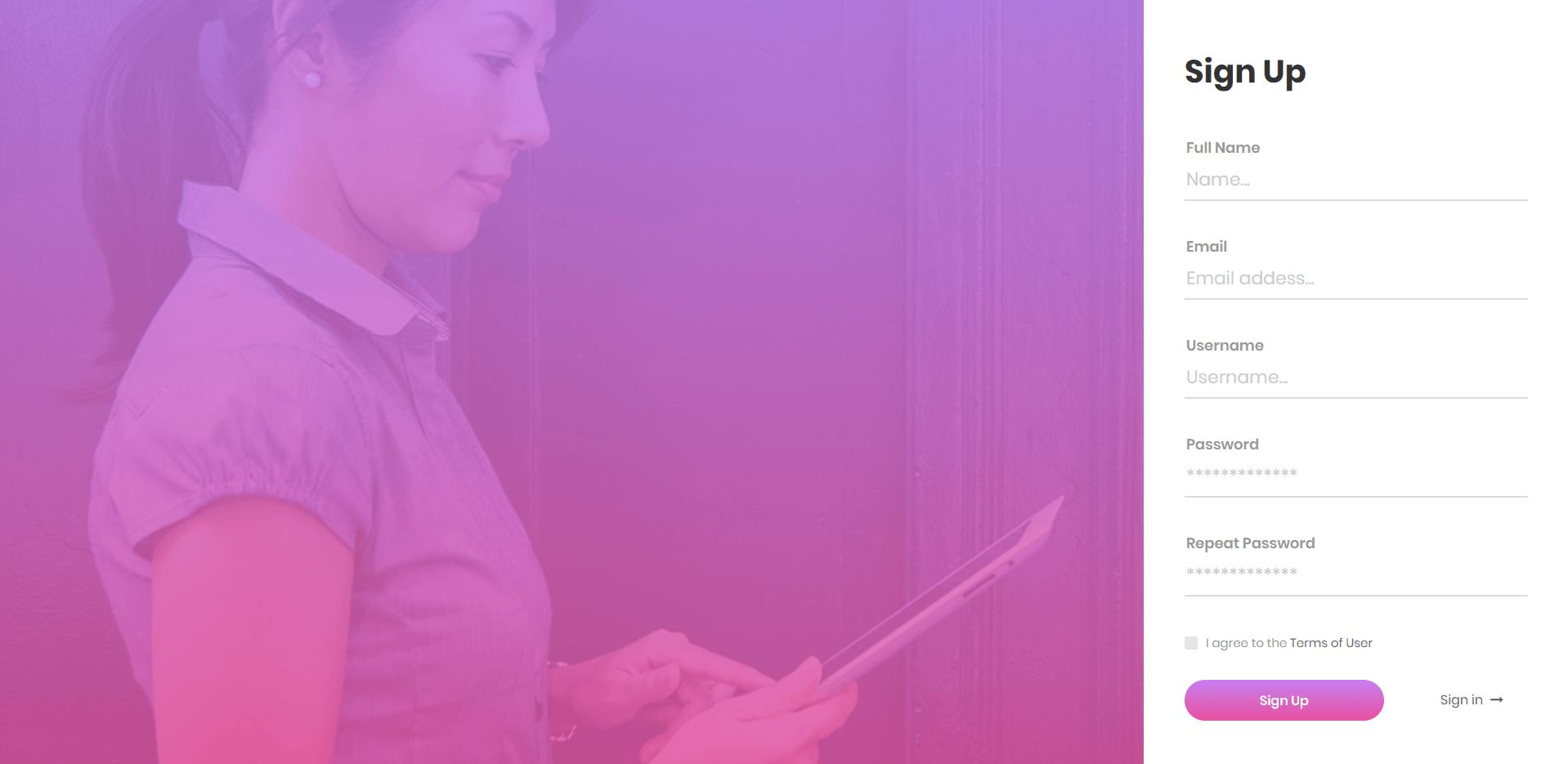 Form Đăng Nhập, Đăng Ký xây dựng theo Progress Bar bằng HTML, CSS, Javascript Phần 10