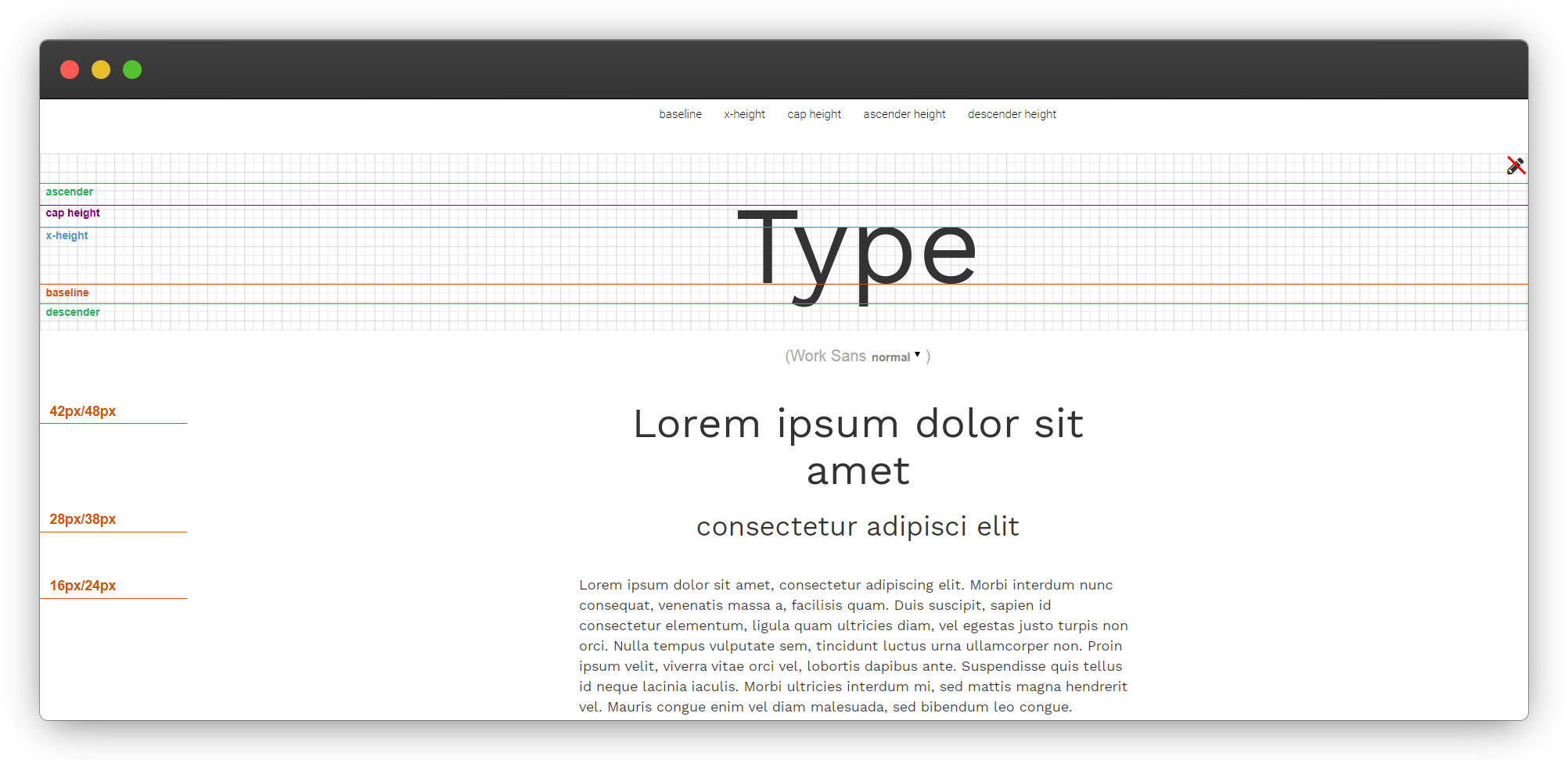 Font Work Sans
