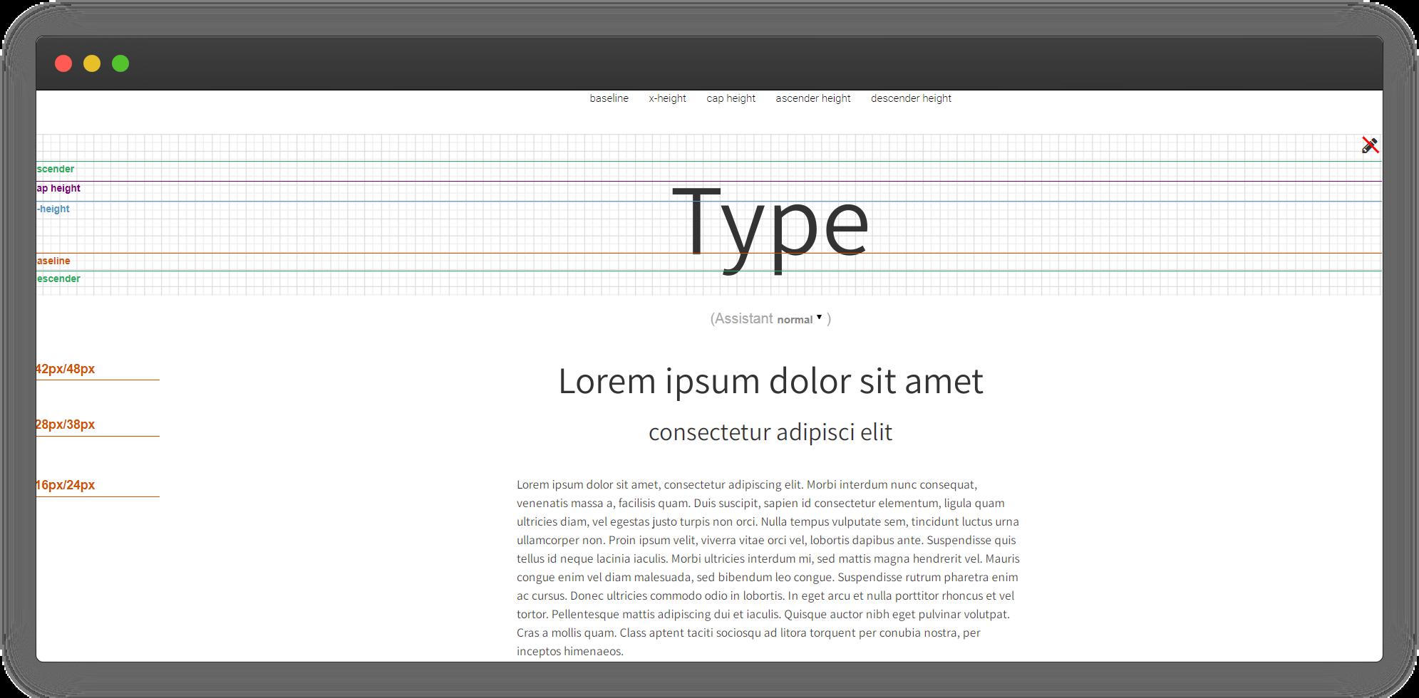 Font Assistant
