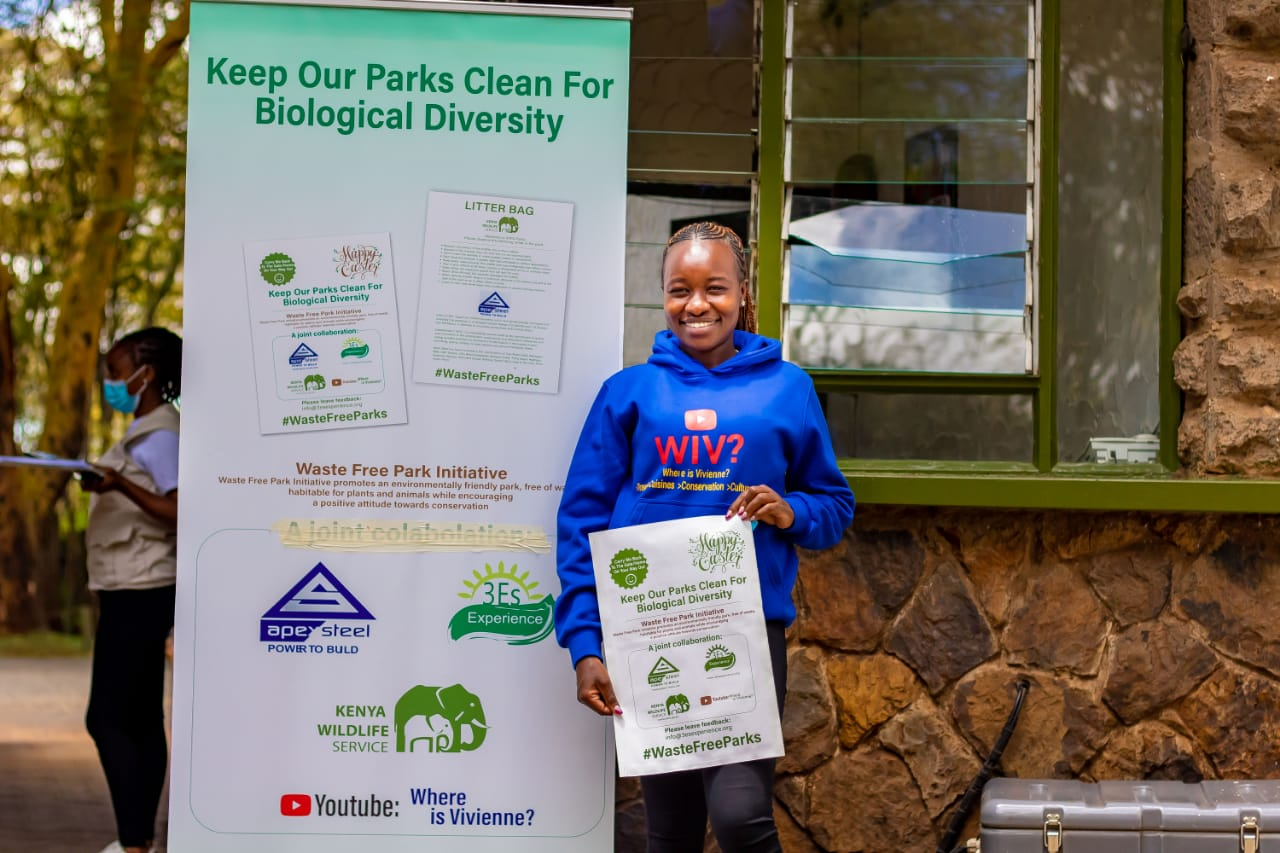 Vivienne's Push For A Cleaner And Greener World Is Changing The Nairobi National Park