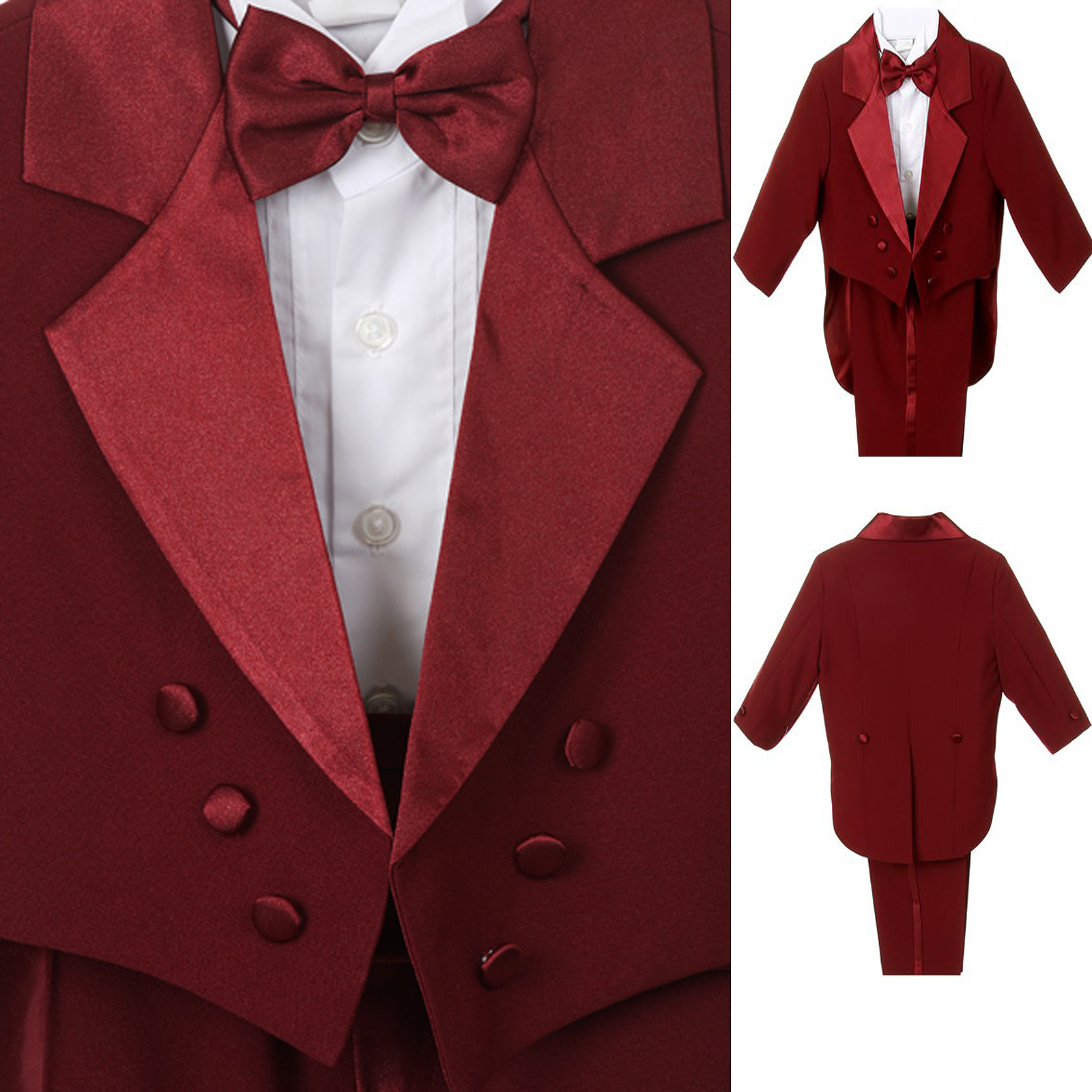 Infant Boy Amp Toddler Wedding Formal Party Tuxedo Suit