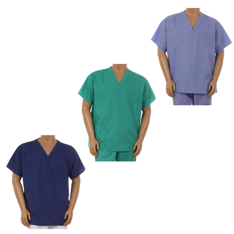 Unisex Medical Apparel Doctor Nurse reversible Uniform Scrub Pants XS-3XL