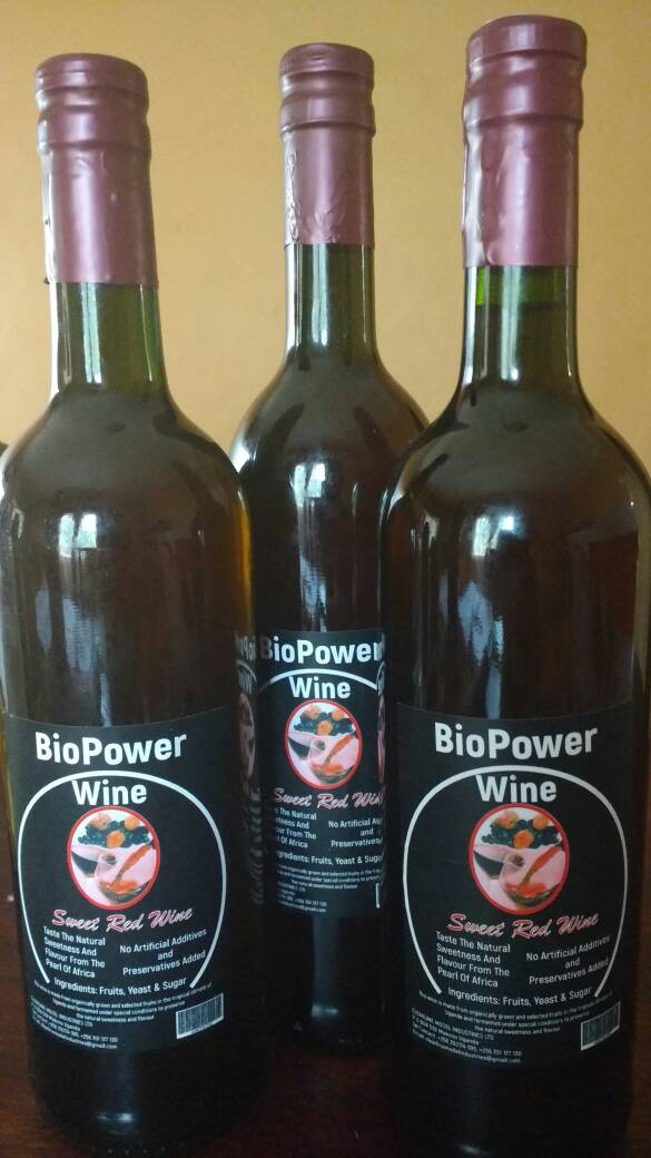 Biopower Wine