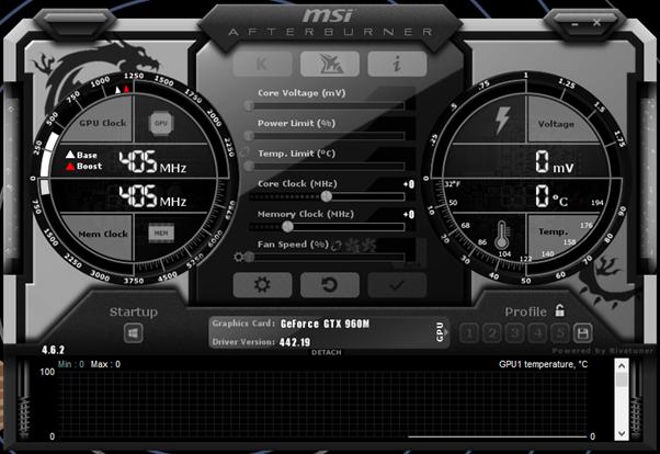 MSI Afterburner游戏监控软件