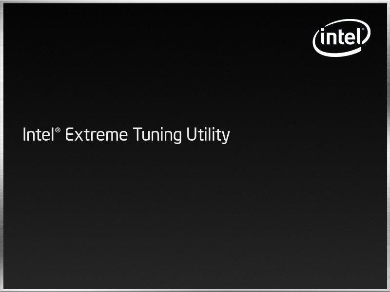 Intel Extreme Tuning Utility笔电效能优化