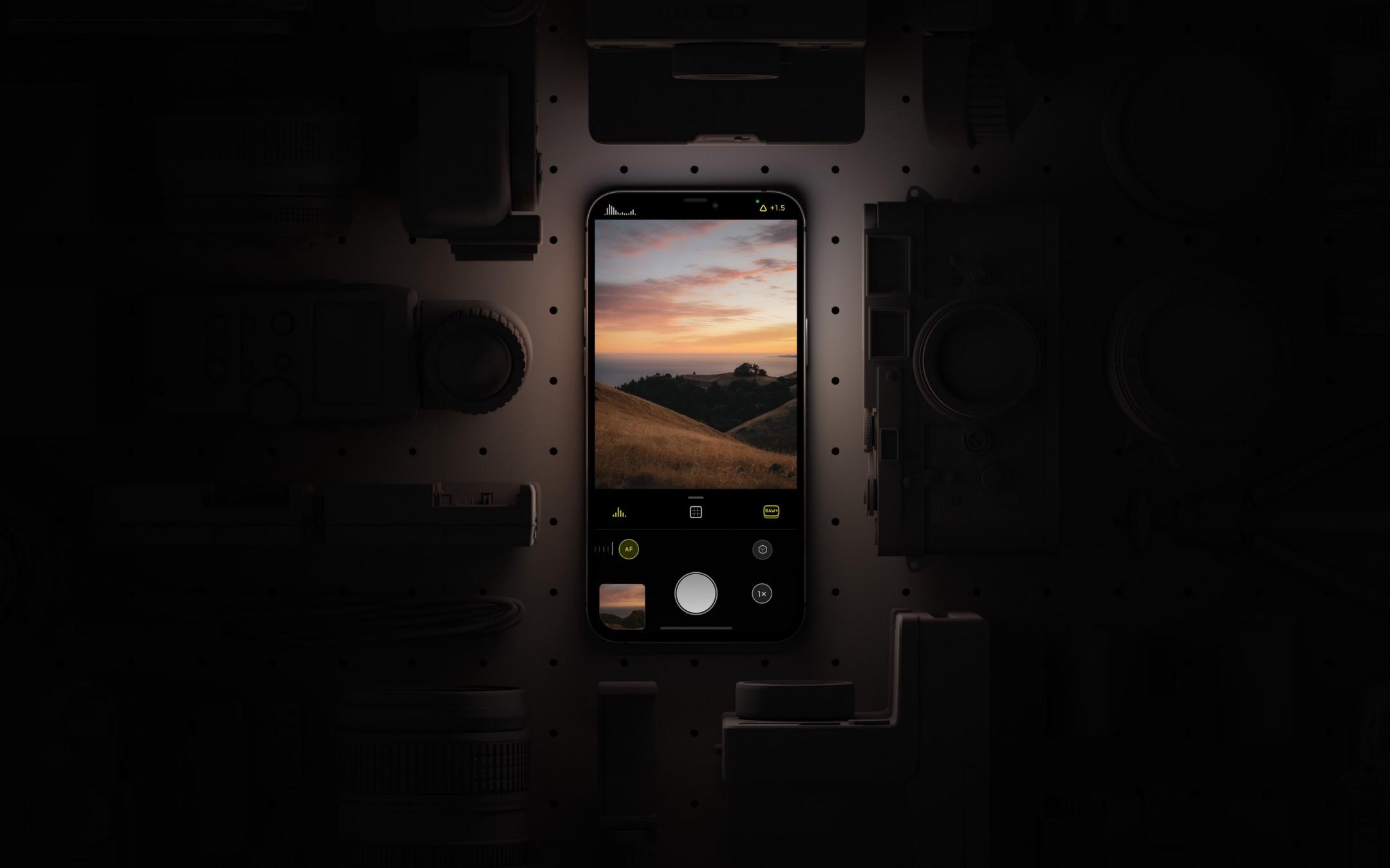 Halide iOS平台上的專業相機APP