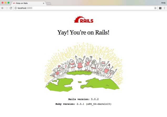Tutorial: How to run Ruby on Rails on Docker (Part 1