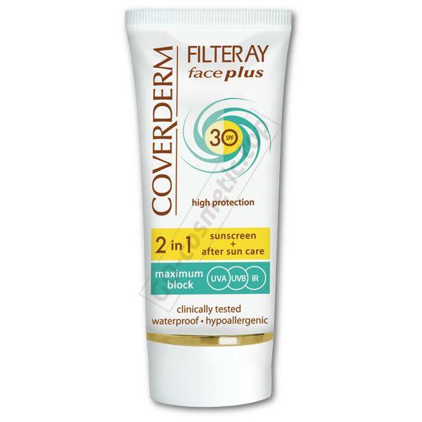 Солнцезащитный крем для сухой, чувствительной кожи SPF30 / Filteray Face Plus SPF30 - Dry/Sensitive