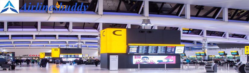 Aigle Azur Airline in Heathrow, Royaume