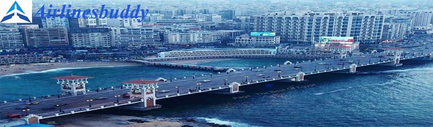 Kuwait Airways Ticket Office in Alexandria, Egypt