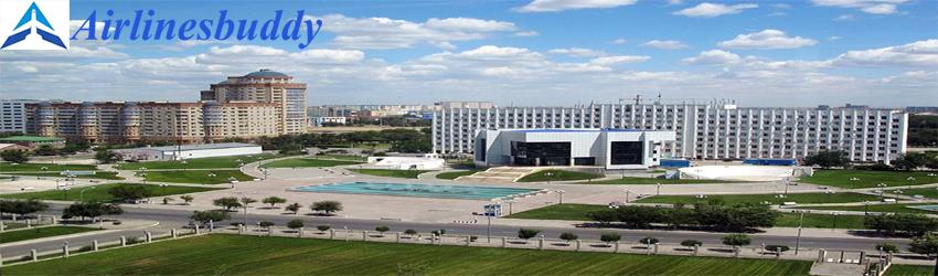 Air Astana City ticketing office in Atyrau, Kazakhstan