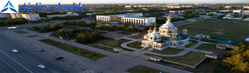 Air Astana Cargo Office in Transavia, Uralsk, Kazakhstan