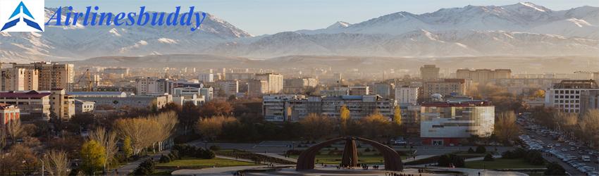 Tajik Air in Bishkek, Kyrgyzstan