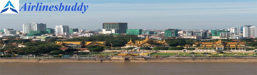 Eva Air Sales Office in Phnom Penh, Cambodia