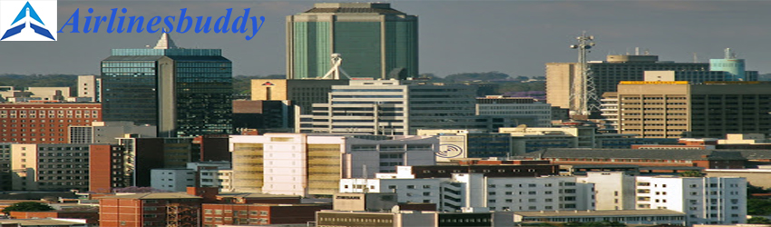 KLM office in Harare, Zimbabwe