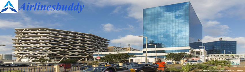 Brussels Airlines City Office in Accra, Ghana