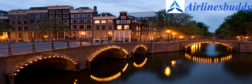 Syrian Air (Syrian Arab Airlines) City Office in Amsterdam, Holland