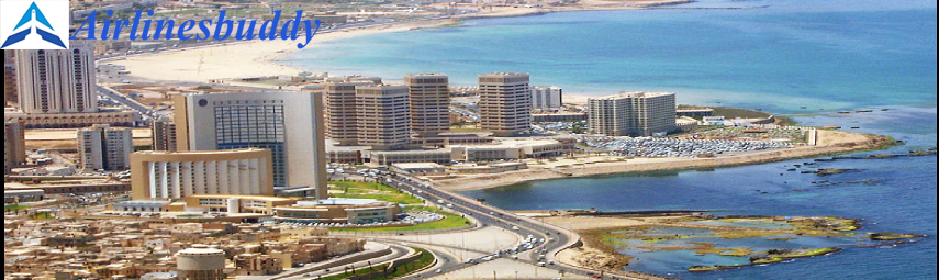 Lufthansa Reservation Office in Tripoli, Libya