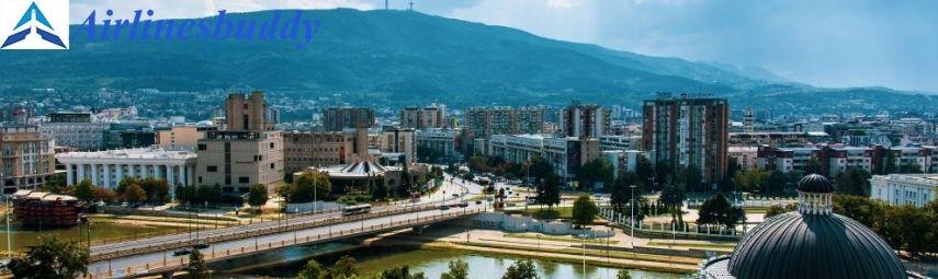 Turkish Airlines AERODROM Desk Office in SKOPJE, Macedonia