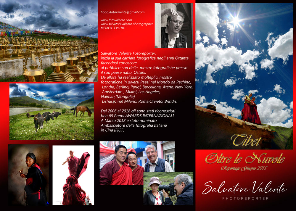 "Photo Exhibition ""Tibet: Oltre le nuvole"" - Front"