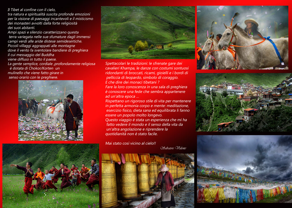 """Mostra Fotografica """"Tibet: Oltre le nuvole"""" - Retro"""