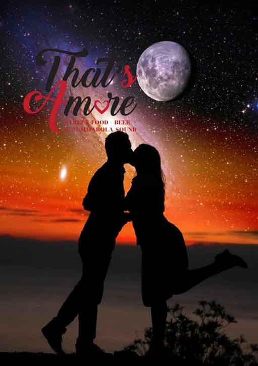 That's Amore : eclissi dalla panoramica di Ostuni