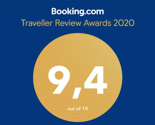 Booking Awards 2020