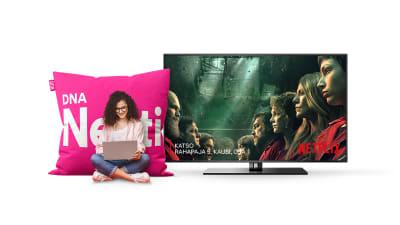 DNA Netti + Netflix | Täydelliset yhdessä