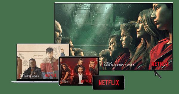 Katso Rahapaja Netflixistä