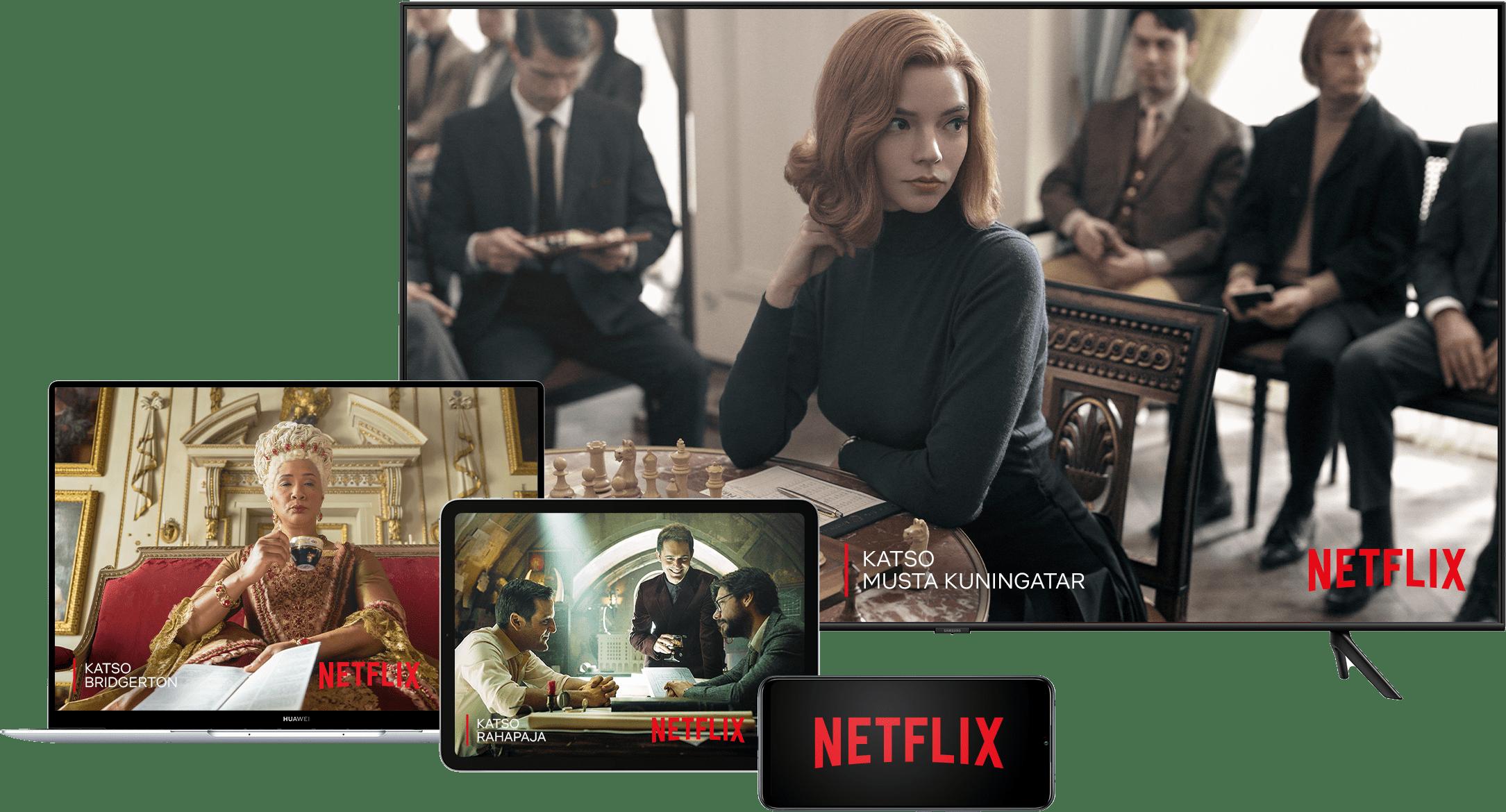 Katso Musta kuningatar Netflixistä