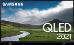 "Samsung QLED 4K Smart TV (2021) QE43Q60, 43"""