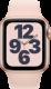 Apple Watch SE (GPS + Cellular, 40 mm), Kulta, hietaroosa ranneke