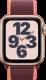 Apple Watch SE (GPS + Cellular, 40 mm), Kulta, luumunvärinen Sport Loop -ranneke