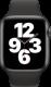 Apple Watch SE (GPS + Cellular, 44 mm), Tähtiharmaa, musta ranneke
