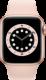 Apple Watch Series 6 (GPS + Cellular, 40 mm), Kulta, hietaroosa ranneke