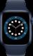 Apple Watch Series 6 (GPS + Cellular, 44 mm), Sininen, matruusinsininen ranneke